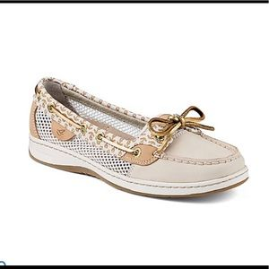 sperry Angelfish Anchor SlipOn Boat Shoes